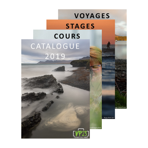 Catalogue VP23 formations photo 2019 - Cours photo - Stage photo - Voyage photo