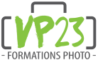 Logo VP23 - Formations photo - Cours photo - Stage Photo - Voyage photo - VP23 - Mickaël Bonnami Photographe
