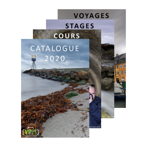 Catalogue VP23 formations photo 2020 - Cours photo - Stage photo - Voyage photo