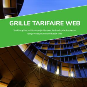 Grille tarifaire web - Vendre ses photos - Guides photo - VP23 - Mickaël Bonnami Photographe