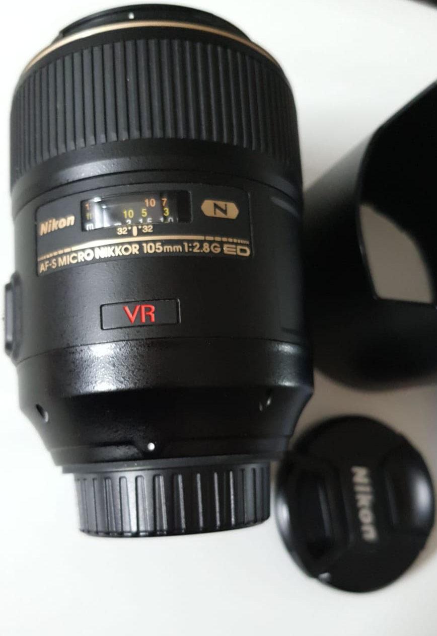 Nikon AF-S 105 mm f/2,8 G IF ED MICRO-NIKKOR VR - Matériel photo d'occasion