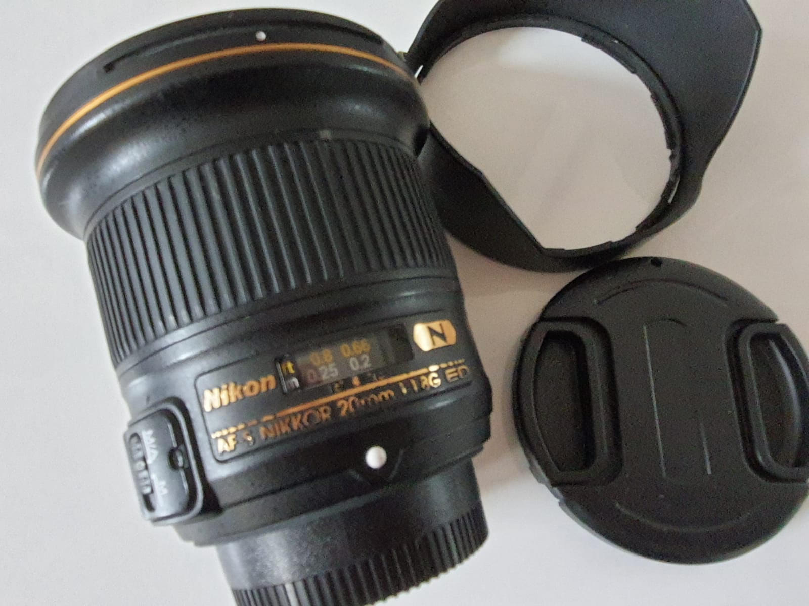 Nikon AF-S 20 mm f/1,8 ED - Matériel photo d'occasion