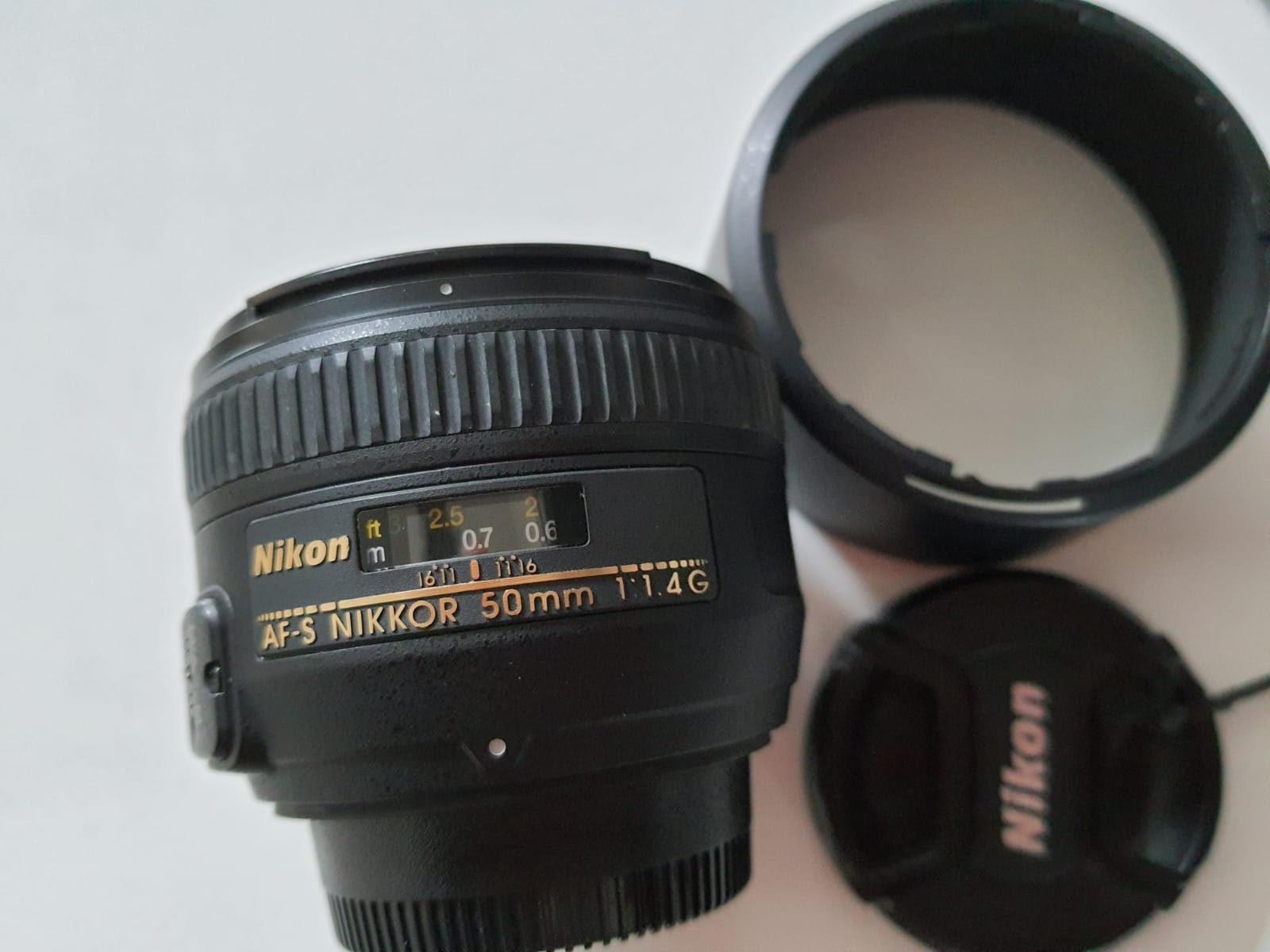 Nikon AF-S 50 mm f/1,4 G - Matériel photo d'occasion