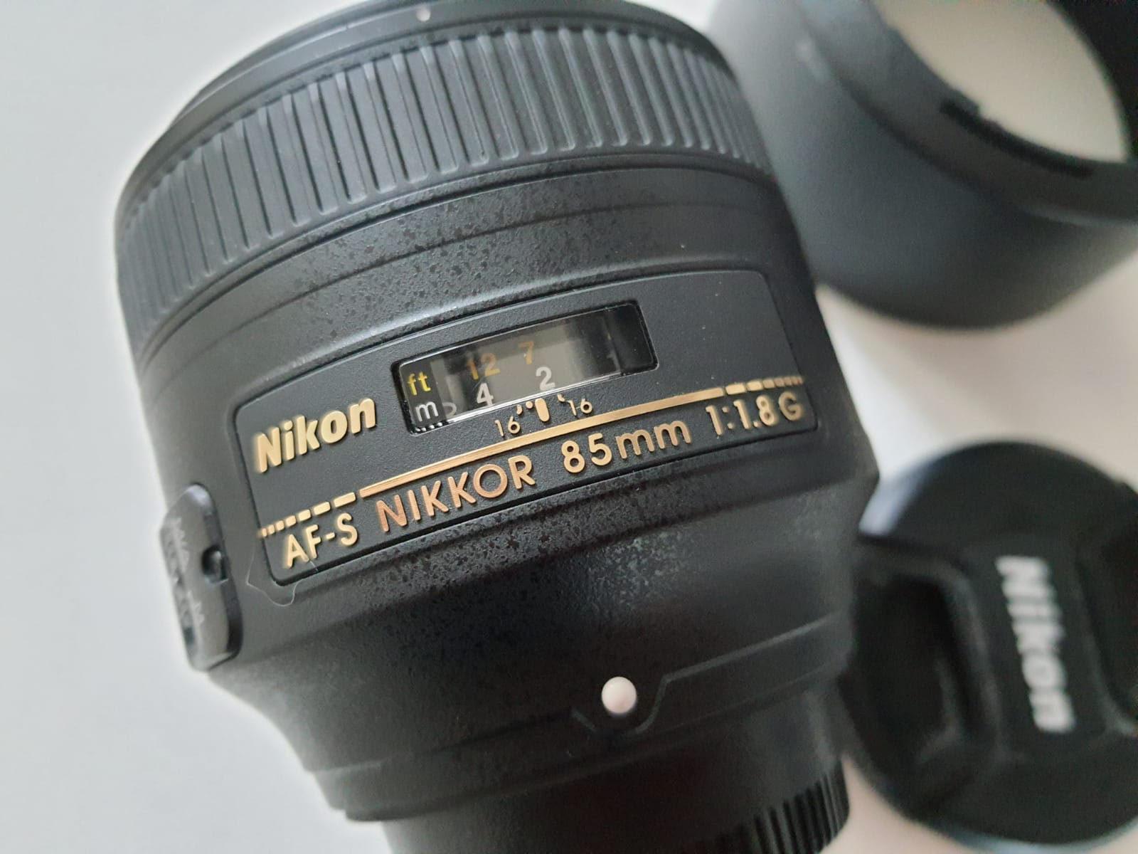 Nikon AF-S 85 mm f/1,8 G - Matériel photo d'occasion