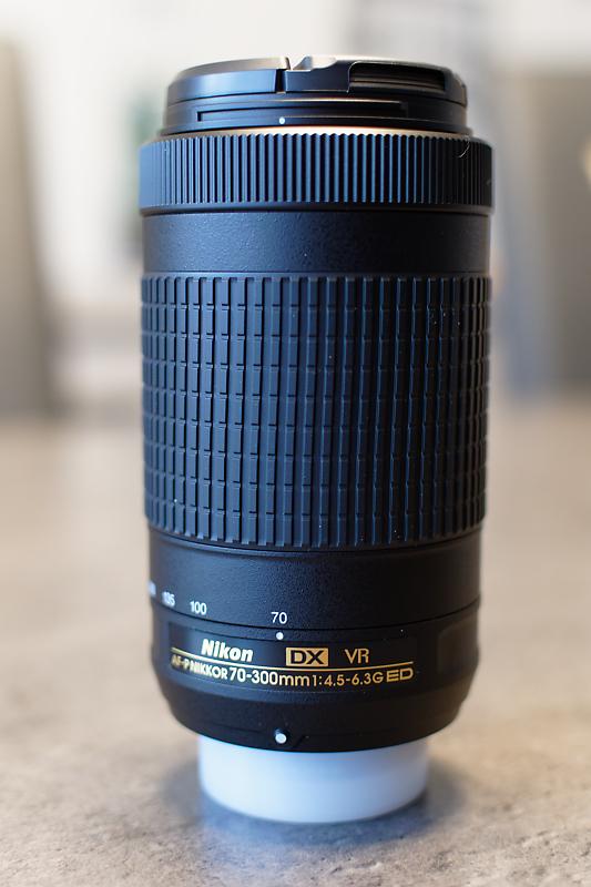 Nikon AF-S 70-300 mm f/4,5-5,6 VR G IF ED - Matériel photo d'occasion