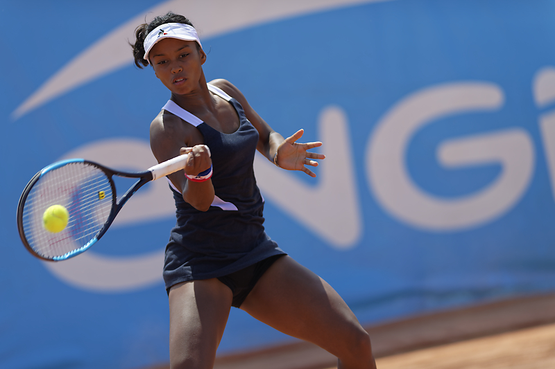 Engie Open Biarritz - Tessah Andrianjafitrimo - Stage photo sport - Stage photo Tennis