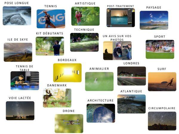 Kit complet VP23 - Toutes les formations photo VP23