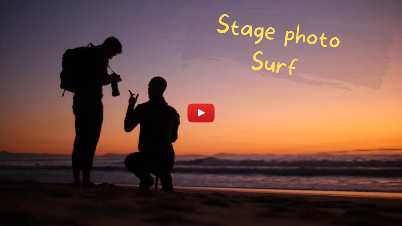 Vidéo YouTube Stage photo Surf Hossegor