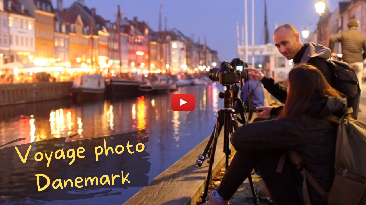 Vidéo YouTube Voyage photo au Danemark