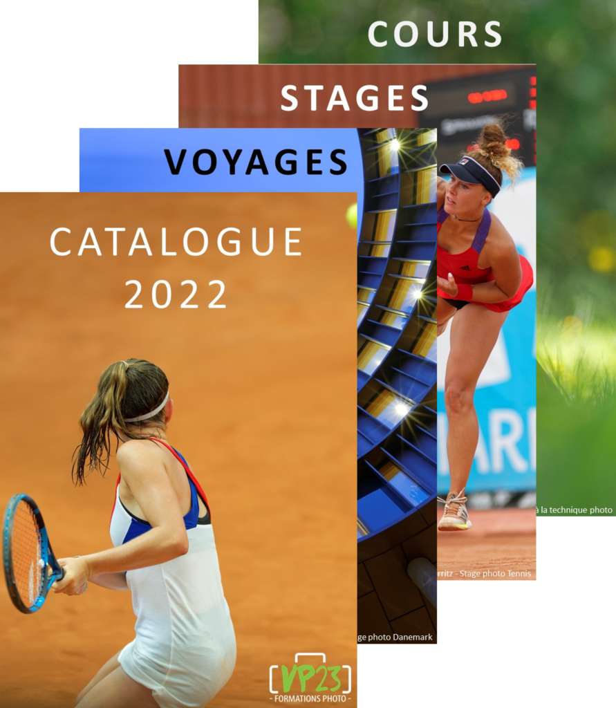 Catalogue VP23 formations photo 2022 - Cours photo - Stage photo - Voyage photo